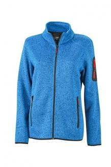 TEXTIL Ladies Knitted Fleece Jacket